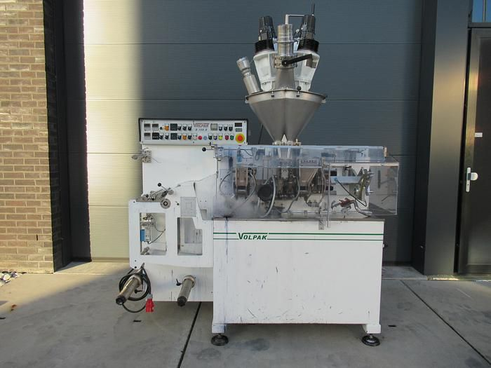 Volpak S-130D horizontal-, form-, fill-, and seal machine
