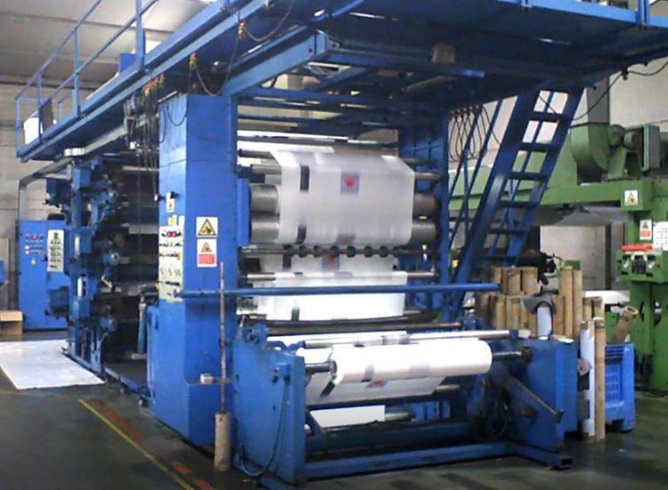 Omal Omalflex 130  In top working condition! 6 col. 1600 mm