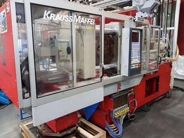 Krauss Maffei KM 150/700 C1 150 Ton