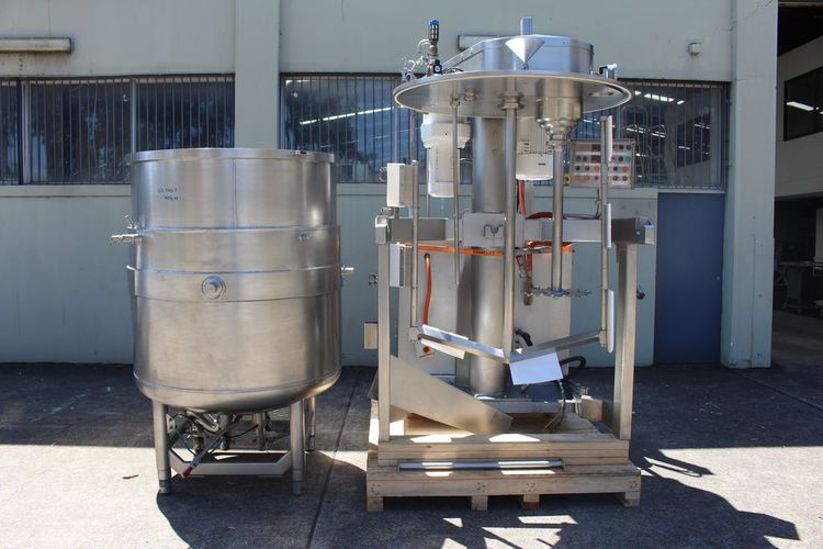 Ausma  1500L Processing Vessel