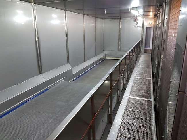 GEA Aerofreeze tunnel freezer