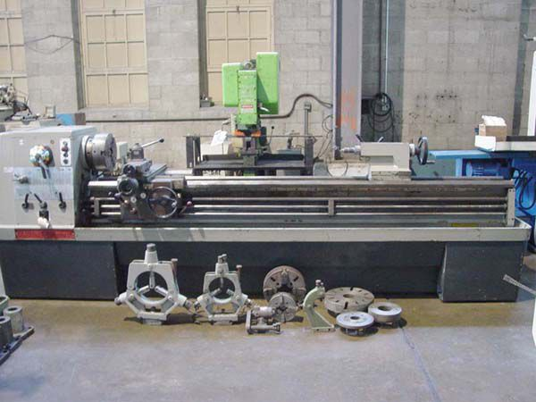 Clausing Colchester Geared Head Engine Lathe Max. 1600 Rpm 8057