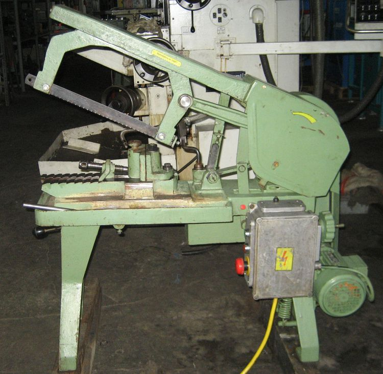 Sägenbau Bieberstein SgB 160 MR Hack sawing machine Operator Console