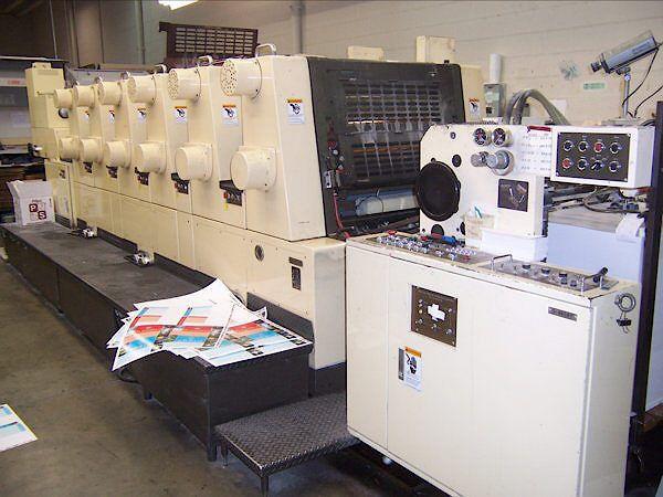 Akiyama Bestech 628, 6 colors Offset machine 20 X 28 Inches