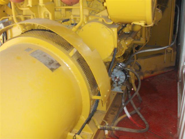 Caterpillar 3512 Industrial Generator Set in Container 1100