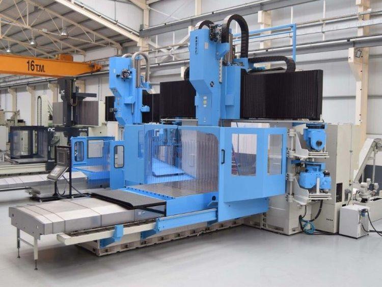 Zayer KPCU 6000-AR Bridge and Gantry Milling Machine