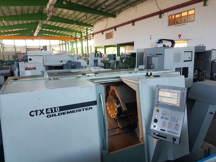 Gildemeister Siunumerik 840D CNC control 5000 rpm CTX 410 V3 2 Axis