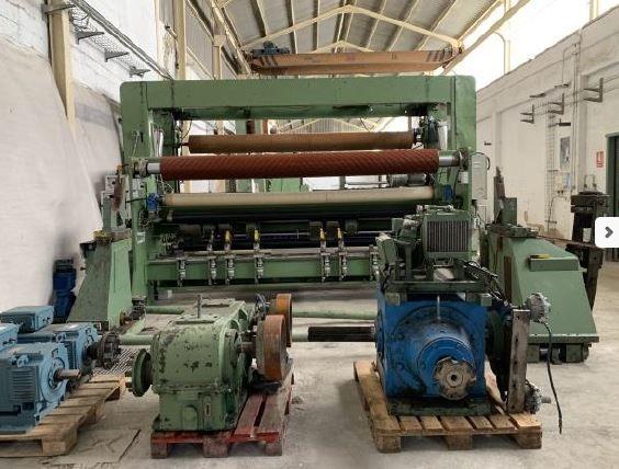 Jagenberg 3800 mm model VARI DUR 43 – 15 A,  1300 m/ mn max
