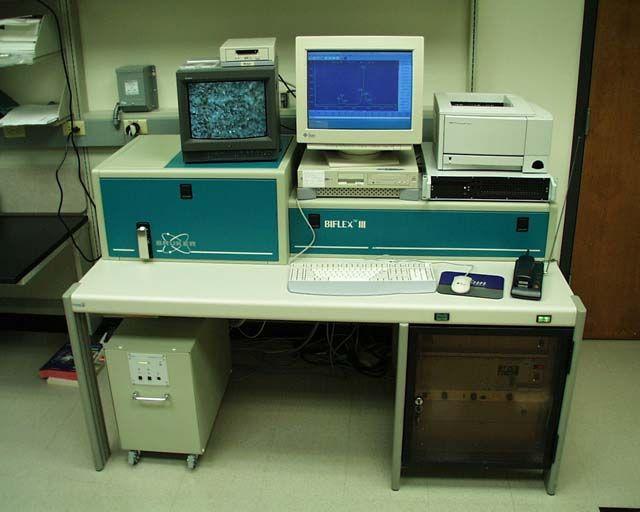 Bruker Biflex III Matrix Assisted Laser Desorption Ionization