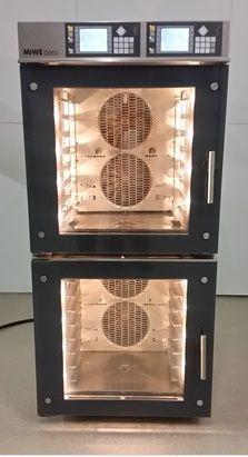 Miwe aero 8.64 two-circuit Shop baking oven