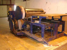 Miehle Corrugated Die Cutting Press