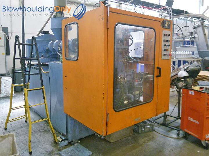 Meccanoplastica MP2S, Single station blow-moulding machine