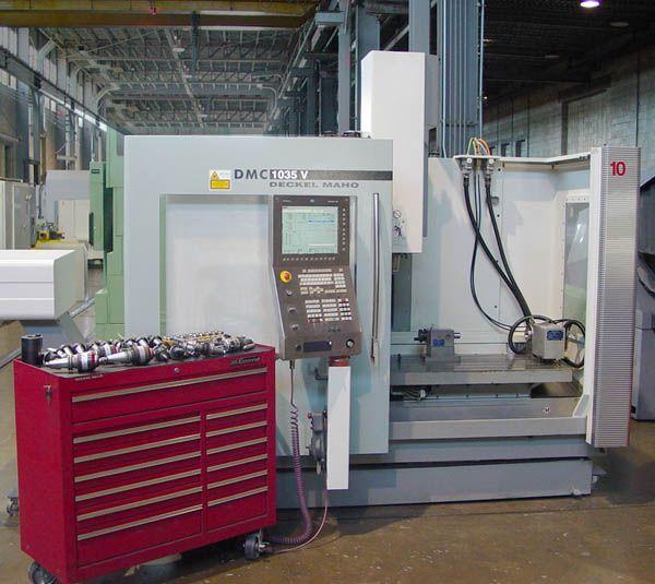DMG DMC 1035V, CNC Vertical Machining Center 4 Axis
