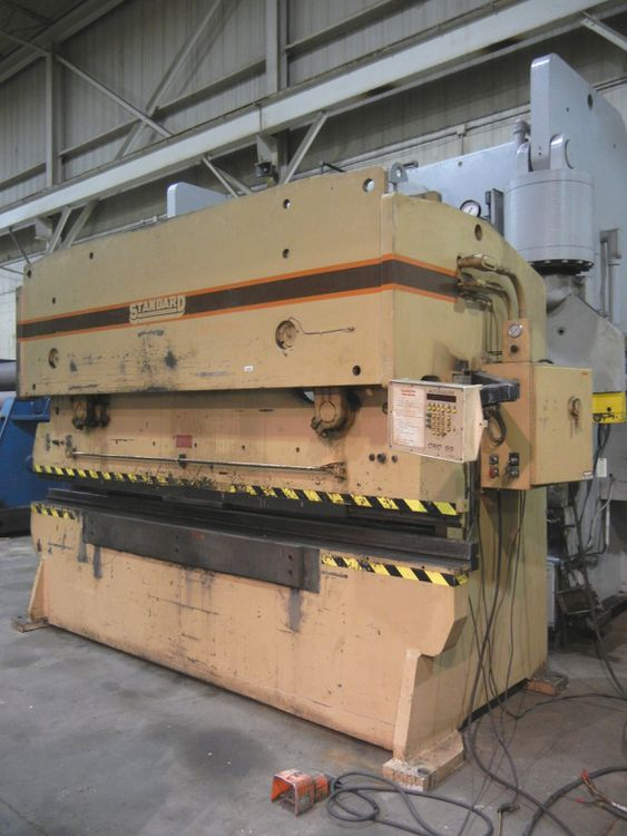 Standard 200 ton x 12' HYDRAULIC 2 AXIS CNC PRESS BRAKE