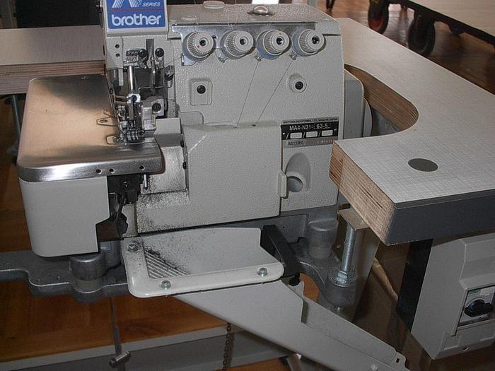 Brother MA 4-B581-0655-2 N / 4F Overlock