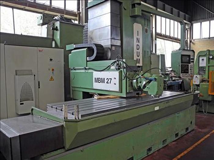 Induma MBM 27 CNC Fixed Bench Milling Machine 2000 rpm
