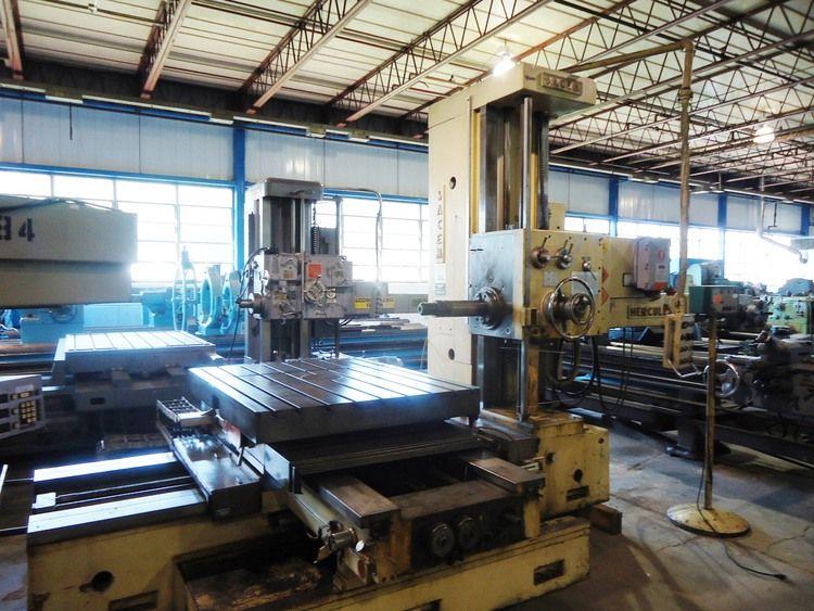 "Sacem MST.XC.110, 4.25"" Table Type Horizontal Boring Mill  Max. 1200 RPM"