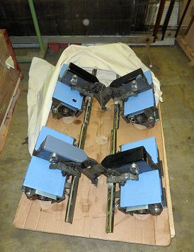 10 Sulzer TLL center tuckers for P7300