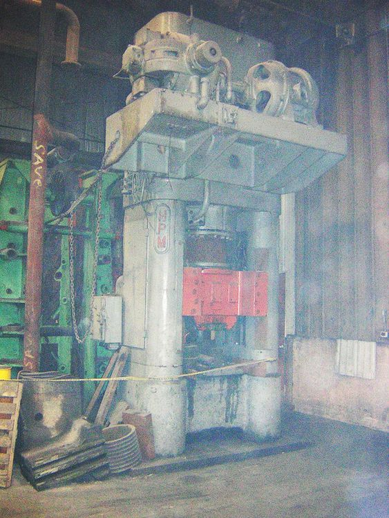 HPM HYDRAULIC PRESS 500 Ton