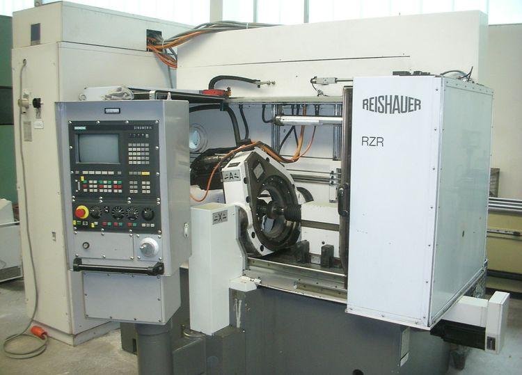 Reishauer RZR Max. 1200 rpm CNC-Controlled Gear Honing Machine