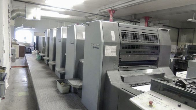 Heidelberg SM74-5P+LX 20 x 29 inch