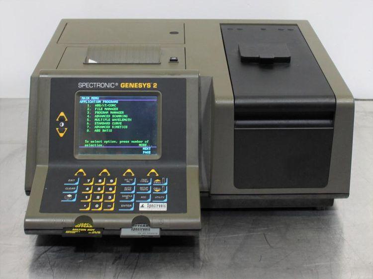 Spectronic Genesys 2 UV-VIS Spectrophotometer