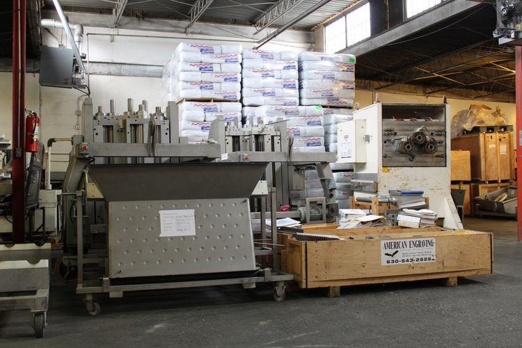Bepex Hosokawa 3-250/1200 EXTRUDER MACHINE