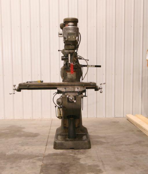 Bridgeport Mill Vertical Variable