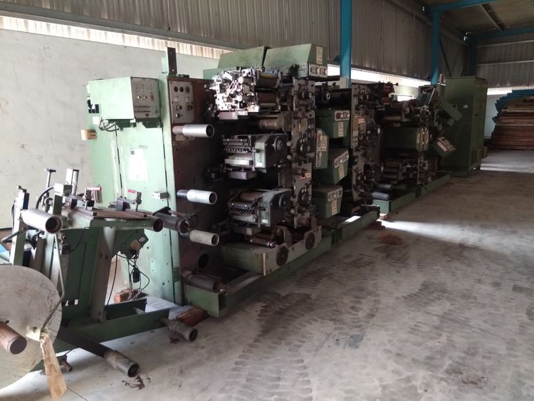 Gallus 160 B, ROTARY LABEL PRINTING MACHINE