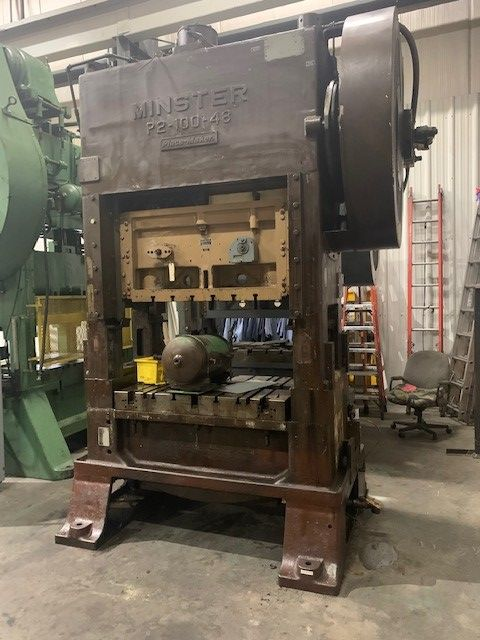 Minster P2-100-48 PIECEMAKER 100 Ton