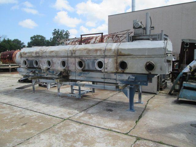 Jeffery Dustex Stainless Steel Fluid Bed Dryer