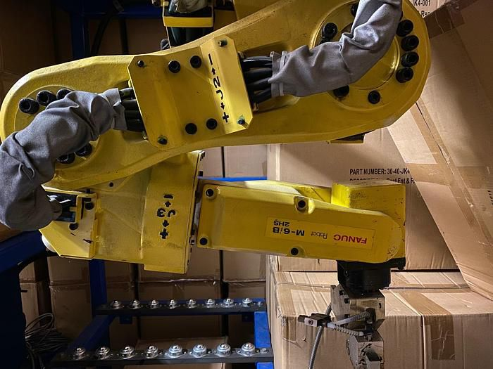 Fanuc M6iB/2HS 6 AXIS CNC ROBOT WITH RJ3iC(R30iA) CONTROLLER 6 Axis 2.00kg