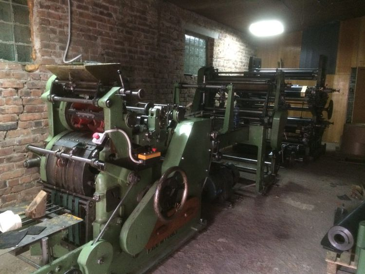 Holweg RS2 paper bag machine with 3/4 col. print