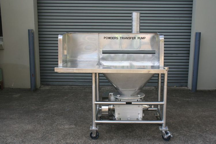 Other Powder Hopper with Rotary Valve