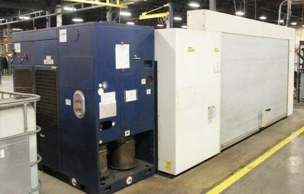 Trumpf OPTIC CNC LASER CUTTING SYSTEM Siemens Sinumerik 84D CNC Control