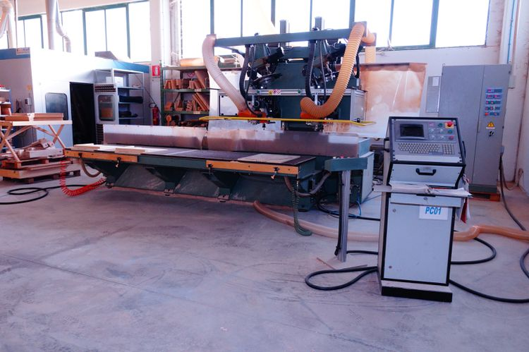 CMS SA32-2TRORCU-2RR, Cnc working center for curved pieces 7