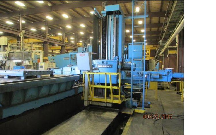 "Cincinnati Gilbert Traveling  Column CNC Floor Type J Series 5.500"" 1200 RPM"