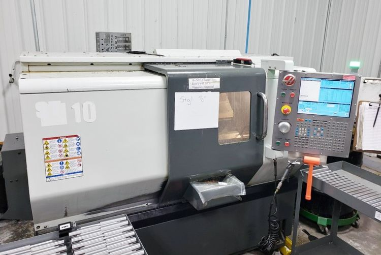 Haas CNC Control 6000 rpm ST-10T 2 Axis