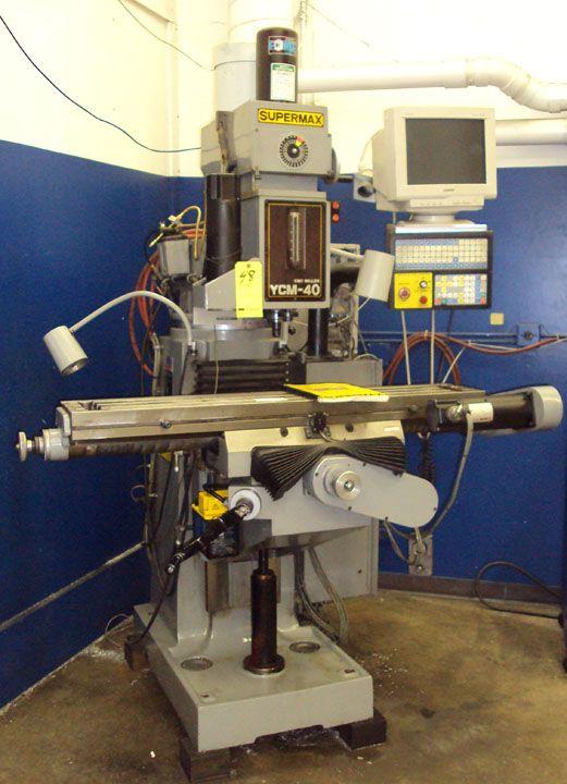 Supermax 3 Axis CNC Vertical Mill 60-4200 RPM