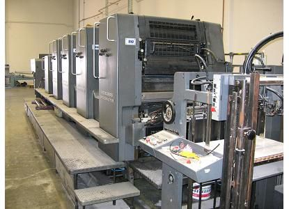 Heidelberg SM724PL, 4 Colors Offset Machine Max. 72 x 102 cm