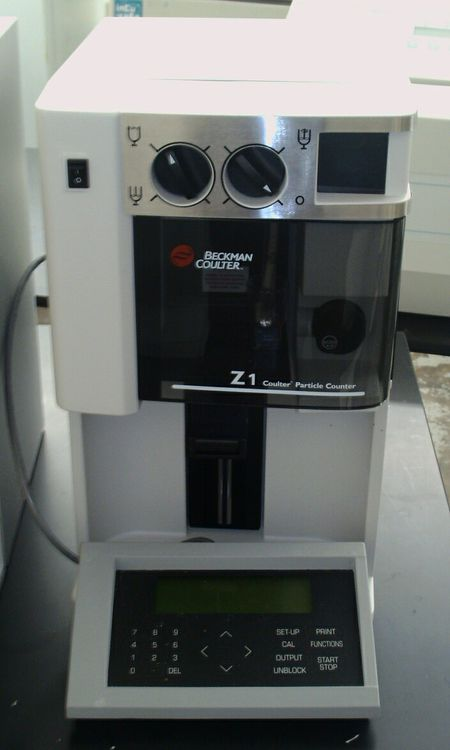 Beckman Coulter Z1 Dual, Cell and Particle Counter