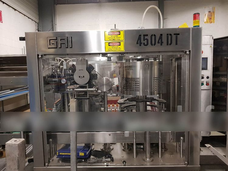 GAI 4504DT Overcapping machine for shrinkable capsules