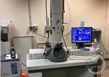Philips EM 208 transmission electron microscope