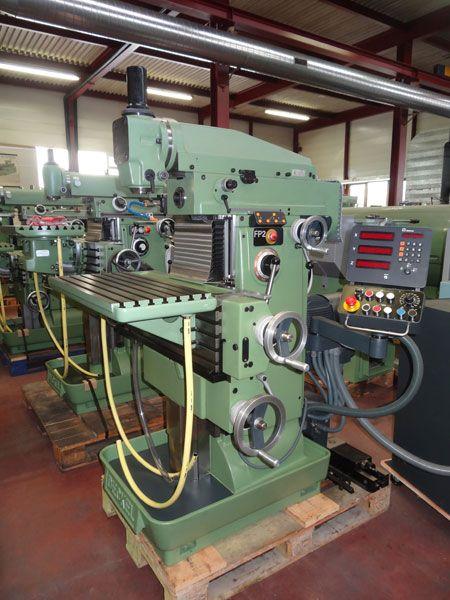 Deckel FP2 Vertical Max. 2500 rpm