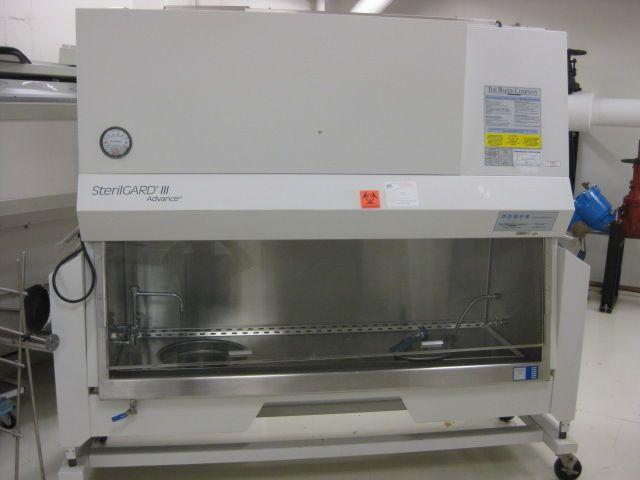 Baker SterilGARD III Advance SG603M Necropsy 6ft Biological Safety Cabinet
