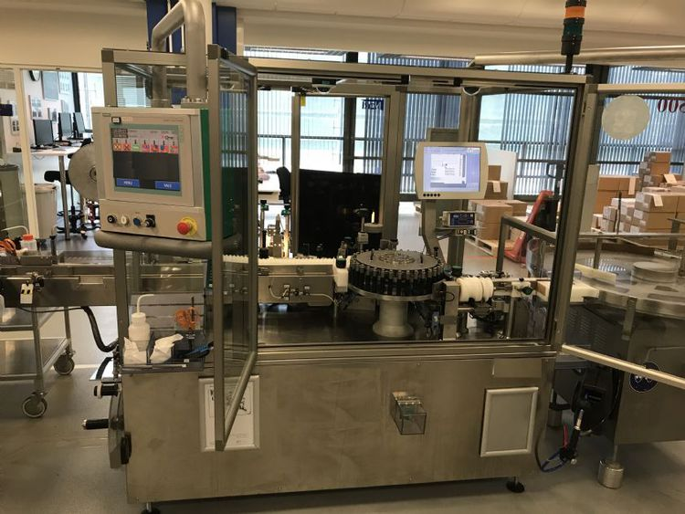 MARCHESINI Complete vials or small round containers packing line
