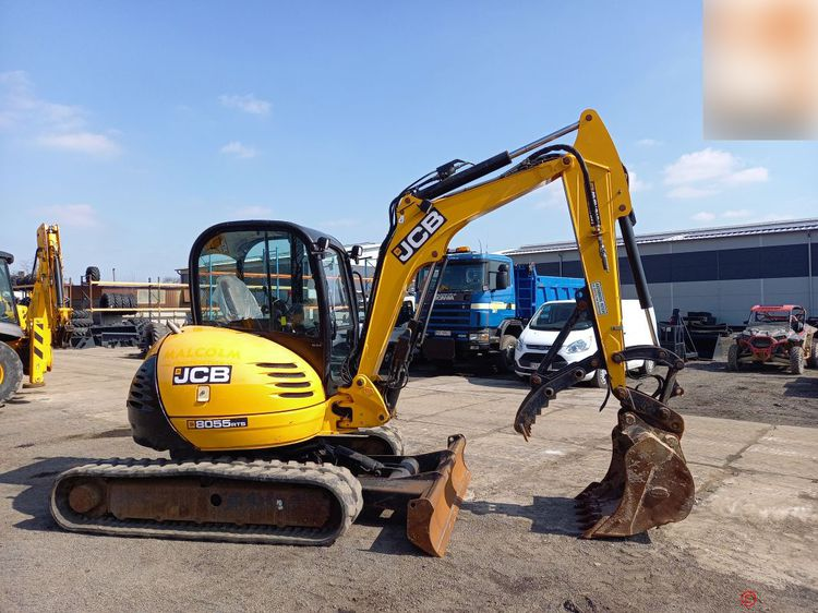 JCB 8055 RTS Crawler excavator