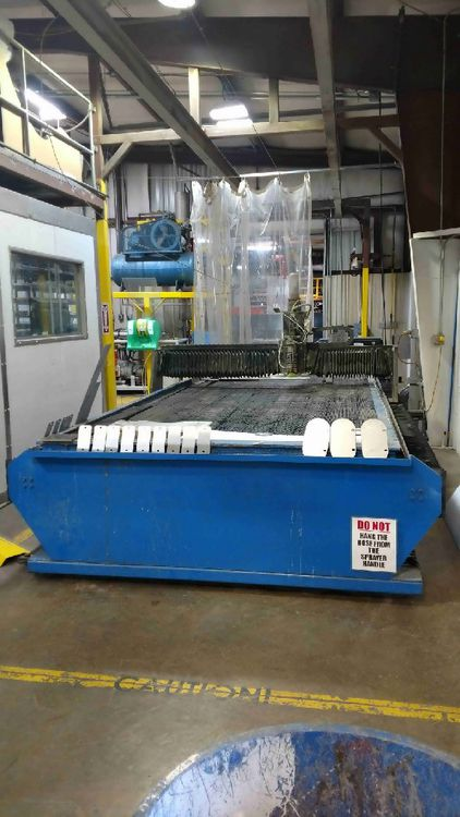Calypso Shark 6x12 CNC Waterjet Cutting System CNC Controller