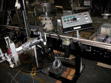 Autolabelling Systems 110RH Single Head Labeler with Wrap Station and OpenDate Coder