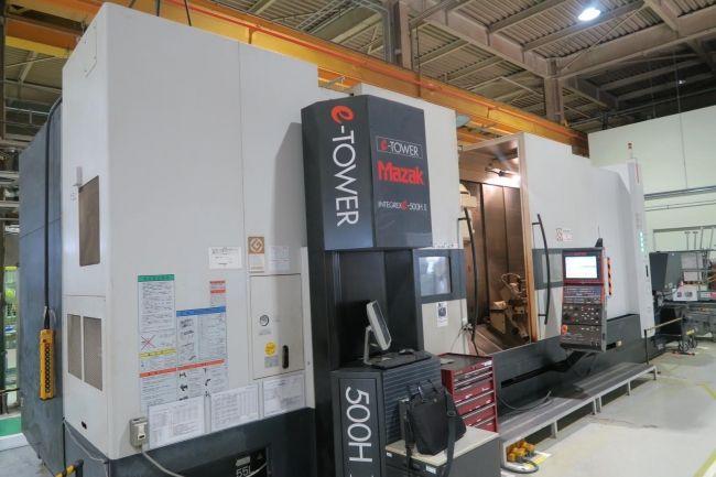 Mazak Mazatrol Matrix CNC control 3300 RPM INTEGREX E-500H II 5 Axis